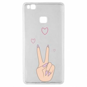 Huawei P9 Lite Case Peace and love