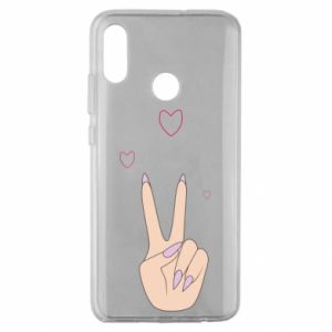 Huawei Honor 10 Lite Case Peace and love
