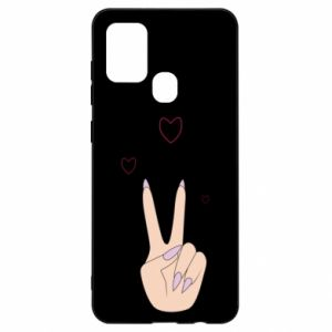 Samsung A21s Case Peace and love