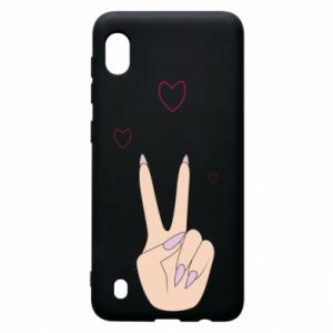 Samsung A10 Case Peace and love