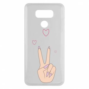 LG G6 Case Peace and love
