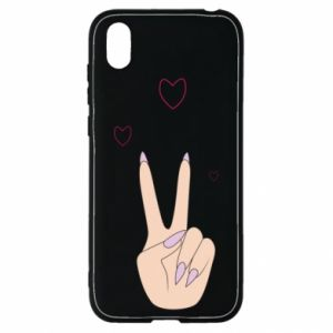Huawei Y5 2019 Case Peace and love