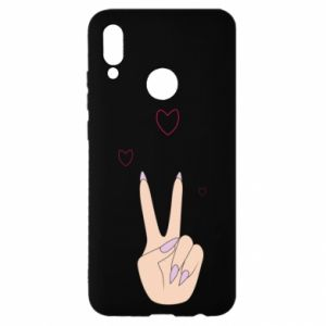 Huawei P Smart 2019 Case Peace and love