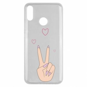 Huawei Y9 2019 Case Peace and love