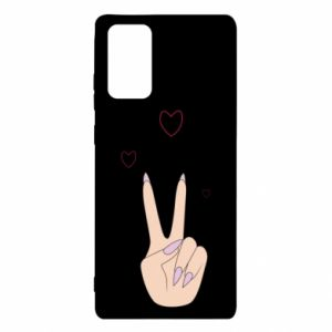 Samsung Note 20 Case Peace and love