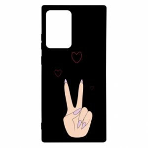 Samsung Note 20 Ultra Case Peace and love