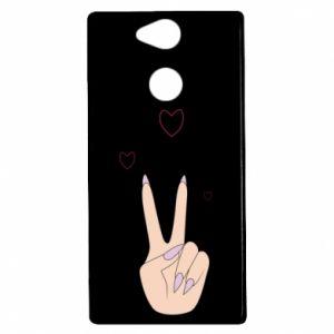 Sony Xperia XA2 Case Peace and love