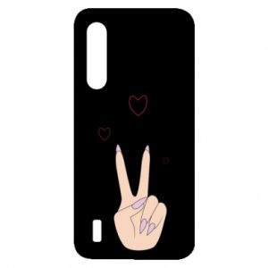 Xiaomi Mi9 Lite Case Peace and love