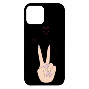 iPhone 12 Pro Max Case Peace and love