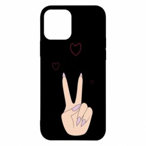 iPhone 12/12 Pro Case Peace and love
