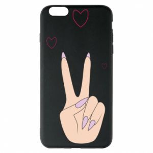Etui na iPhone 6 Plus/6S Plus Peace and love