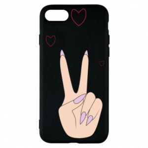 Etui na iPhone 7 Peace and love