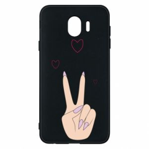 Etui na Samsung J4 Peace and love