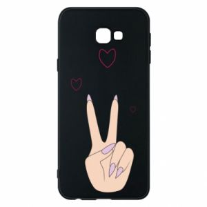 Etui na Samsung J4 Plus 2018 Peace and love