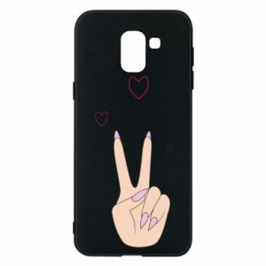 Etui na Samsung J6 Peace and love