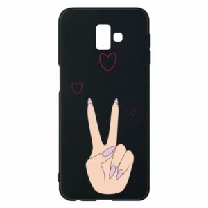 Etui na Samsung J6 Plus 2018 Peace and love