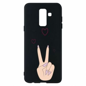 Etui na Samsung A6+ 2018 Peace and love