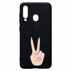 Etui na Samsung A60 Peace and love