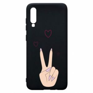 Etui na Samsung A70 Peace and love