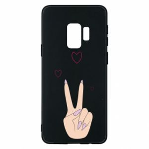 Etui na Samsung S9 Peace and love