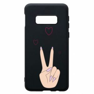 Etui na Samsung S10e Peace and love