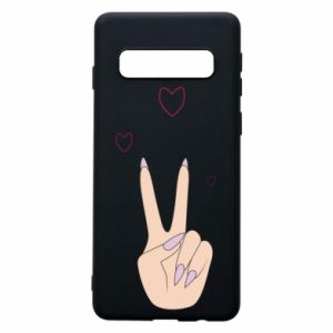 Etui na Samsung S10 Peace and love
