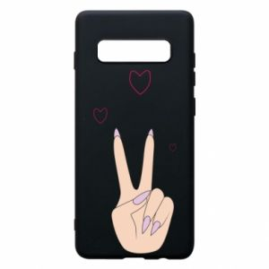 Etui na Samsung S10+ Peace and love