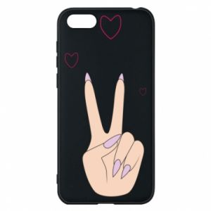 Etui na Huawei Y5 2018 Peace and love