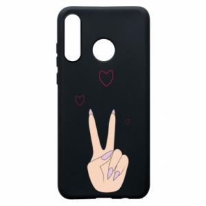 Etui na Huawei P30 Lite Peace and love