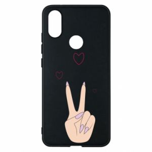 Etui na Xiaomi Mi A2 Peace and love