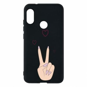 Etui na Mi A2 Lite Peace and love