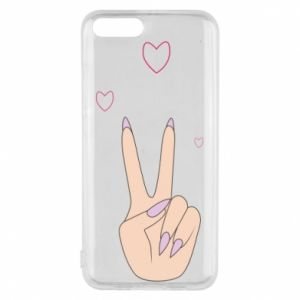 Etui na Xiaomi Mi6 Peace and love