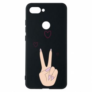 Etui na Xiaomi Mi8 Lite Peace and love