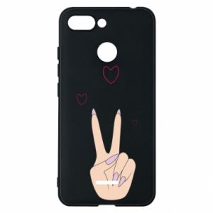 Etui na Xiaomi Redmi 6 Peace and love