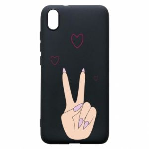 Etui na Xiaomi Redmi 7A Peace and love