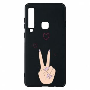 Etui na Samsung A9 2018 Peace and love