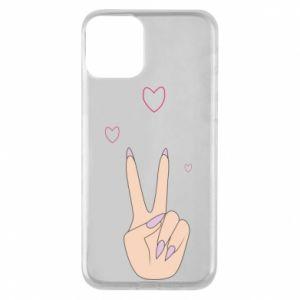 Etui na iPhone 11 Peace and love