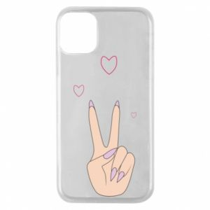 Etui na iPhone 11 Pro Peace and love