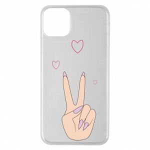 Etui na iPhone 11 Pro Max Peace and love