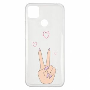 Xiaomi Redmi 9c Case Peace and love