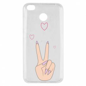 Xiaomi Redmi 4X Case Peace and love