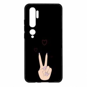 Xiaomi Mi Note 10 Case Peace and love