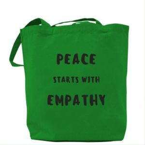 Torba Peace starts with empathy