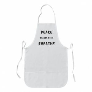 Fartuch Peace starts with empathy