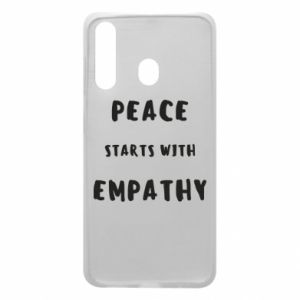 Etui na Samsung A60 Peace starts with empathy
