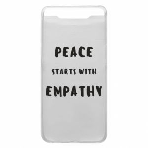 Etui na Samsung A80 Peace starts with empathy