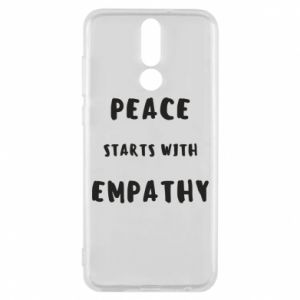 Etui na Huawei Mate 10 Lite Peace starts with empathy
