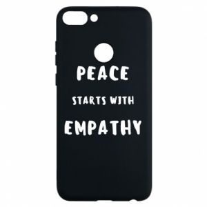Etui na Huawei P Smart Peace starts with empathy