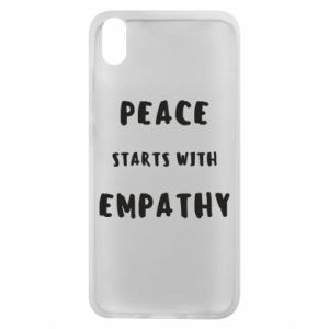 Etui na Xiaomi Redmi 7A Peace starts with empathy
