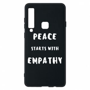Etui na Samsung A9 2018 Peace starts with empathy
